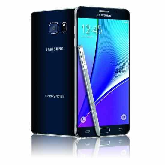 Galaxy Note 5 na obrázku