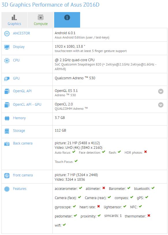 Asus Zenfone 3 test