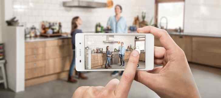 Fotoaparát Sony Xperia E5