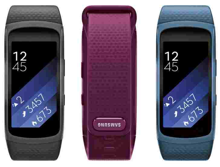 Barevné varianty Samsung Galaxy Fit 2
