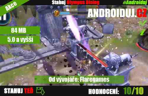 Olympuis Rising android hra - božská hra pro hráče android her