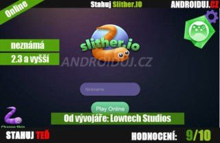 Slither.IO online Android hra