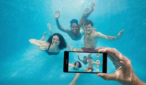 Foťte s telefónem pod vodou