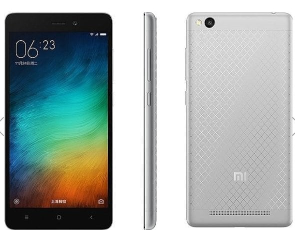 Xiaomi Redmi 3 stříbrná