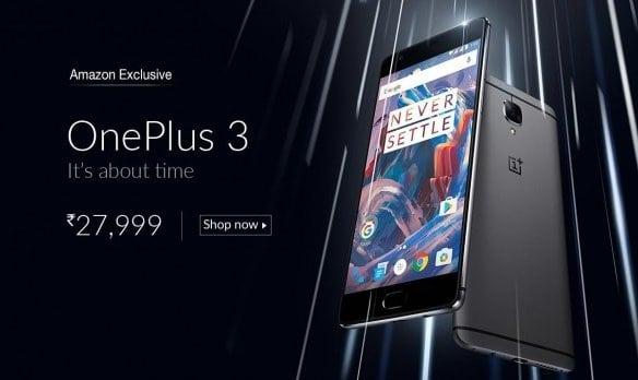 Amazon exkluzivně OnePlus 3