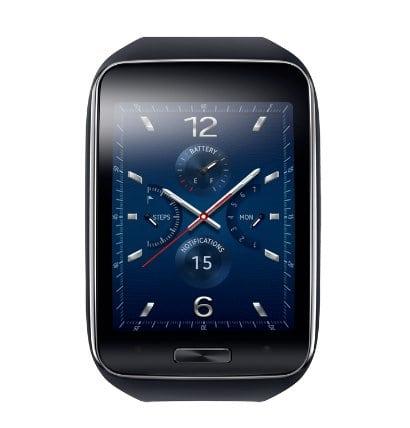 Samsung Gear S - černé