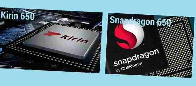 Kirin 650 vs Snapdragon 650