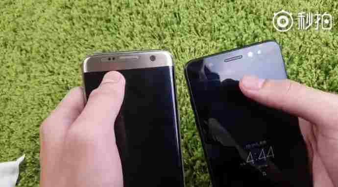 Samsung Galaxy Note 7 na videu