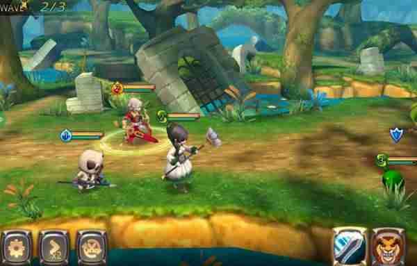 Once Heroes, YJM Games, RPG android hra,