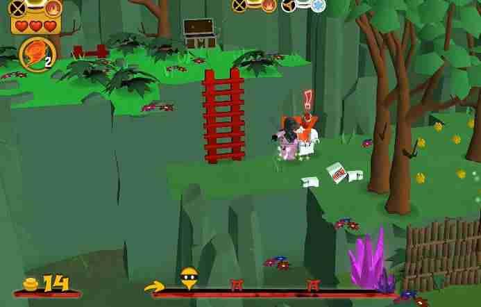 LEGO Ninjago WU-CRU, android hra, akční hra