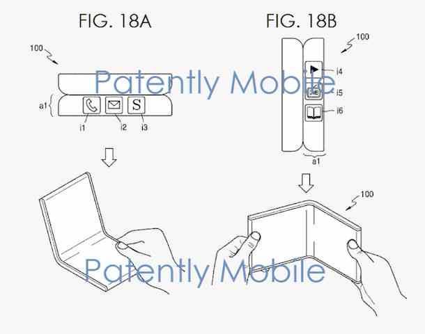Detaily patentů Samsung pro skládací tablety i telefony   novinky