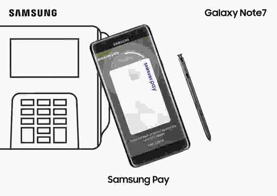 Samsung Galaxy Note 7 Samsung pay