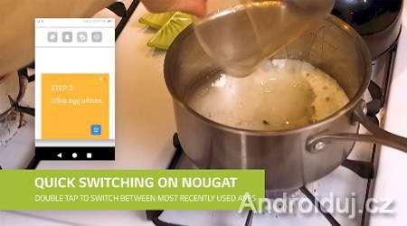 Android 7.0 Nugát, video, LG V20
