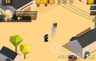 Mobilní hra - Burnout City