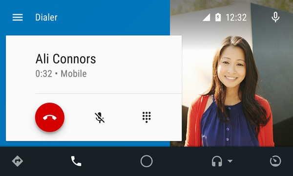 Volejte, pište a nepouštějte volant, Android AUTO