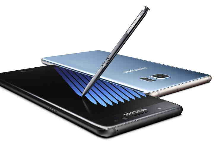 Samsung Galaxy Note 7, androiduj, touchwiz