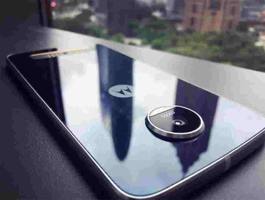 Moto Z Play fotografie