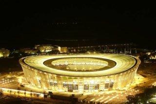 Kapské město, fotbalový stadion, androiduj aplikace Ligy Mistrů