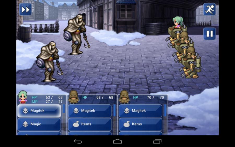 Final Fantasy VI, Android hra, sleva