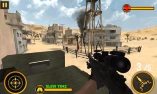 War Duty Sniper 3D, androiduj, android hra