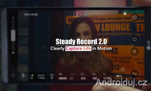 LG V20 - funkce telefonu steady record 2.0, 32-bit Hi-Fi DAC