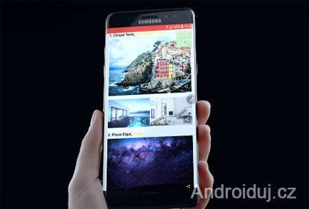 Samsung Galaxy Note 7 uvedení do prodeje