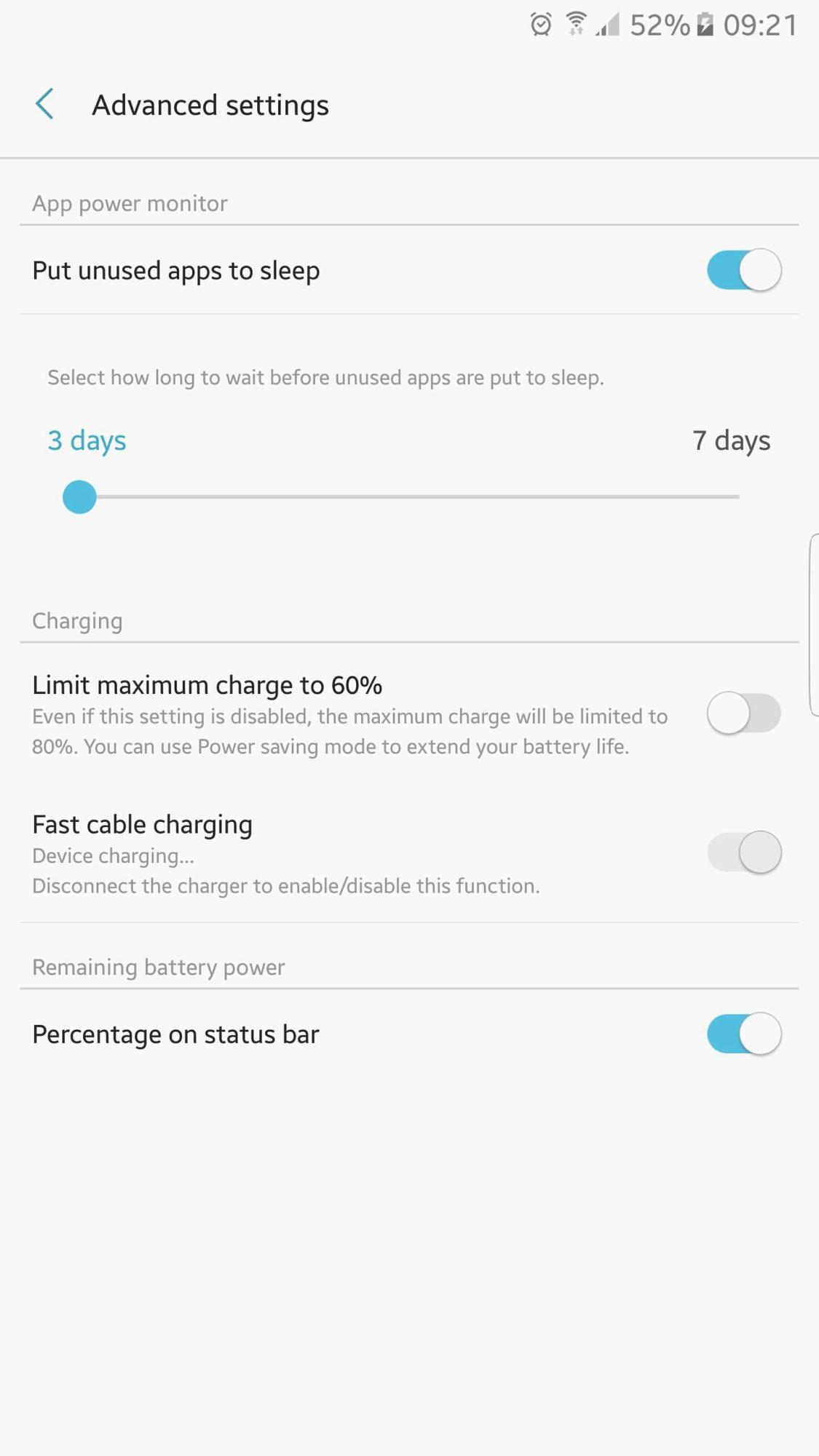 Samsung Galaxy Note 7 nabíjení