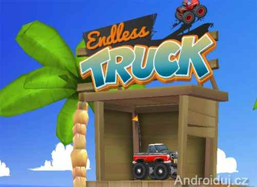 Endless Truck HTML5 na mobil