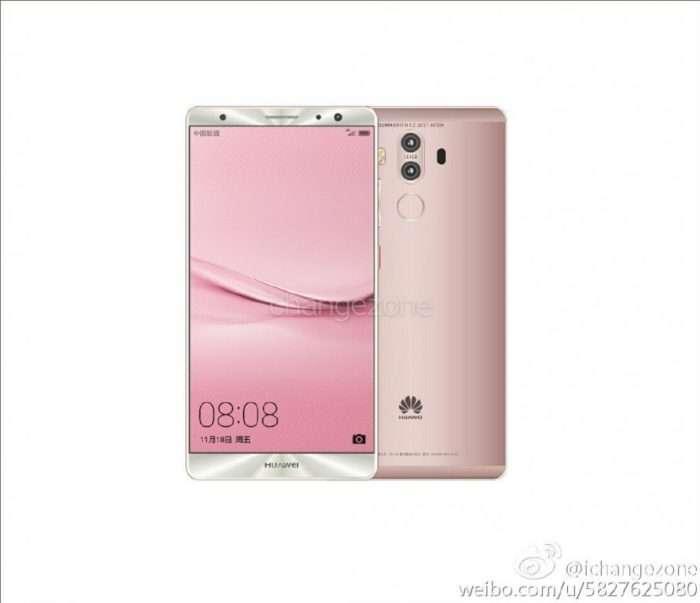 Huawei Mate 9 růžový