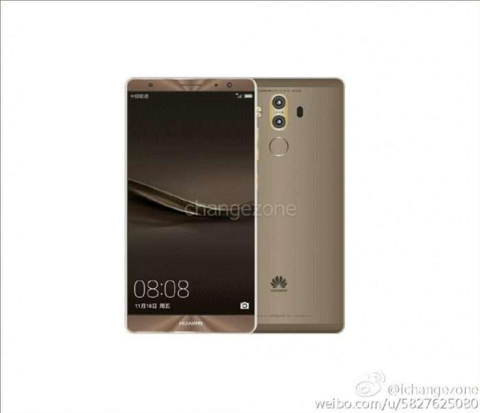 Huawei Mate 9 šedý