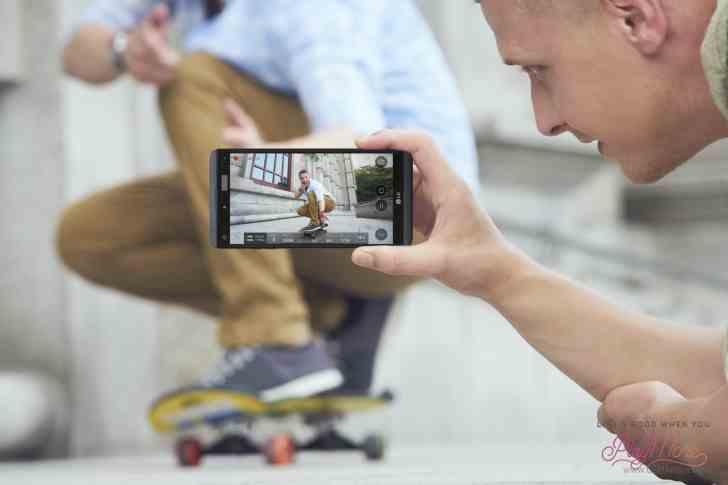 LG V20 stabilizace obrazu, fotek