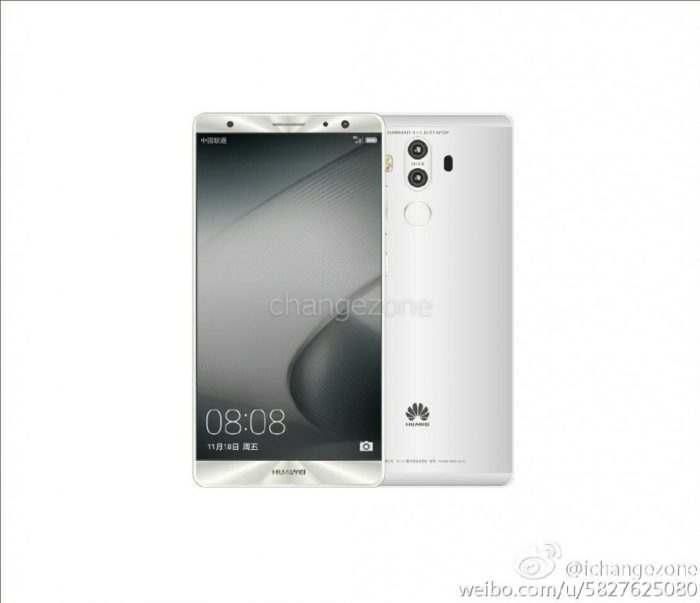 Huawei Mate 9 stříbrný
