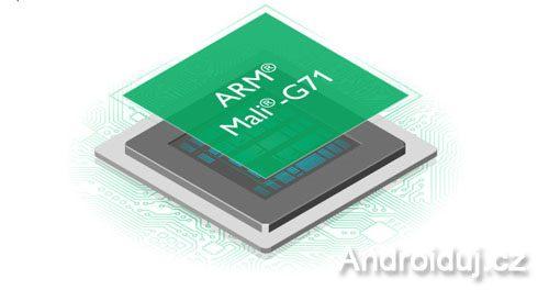 Samsung Galaxy S8 s chipsetem Exynos 8895 a GPU MALI G71