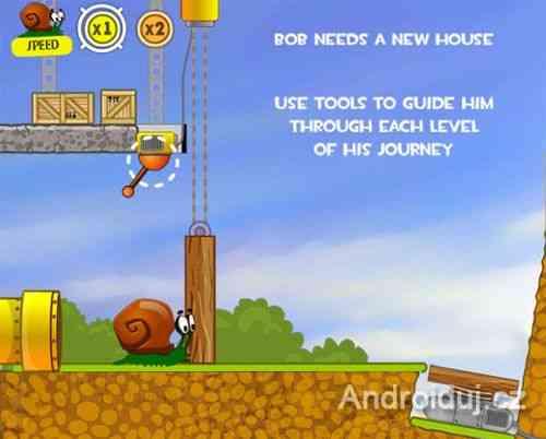 Snail Bob HTML5 hra