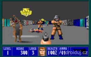 DOS hra- Wolfenstein 3D, hra