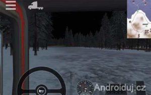 Arctic Trucker Simulator android hra zdarma