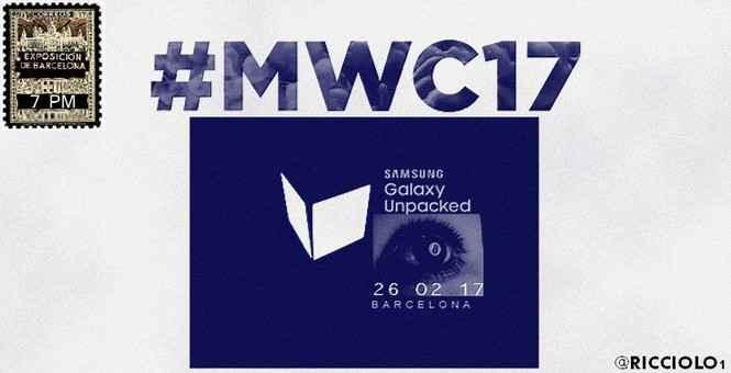 Samsung Galaxy S8 oficiální pozvánka