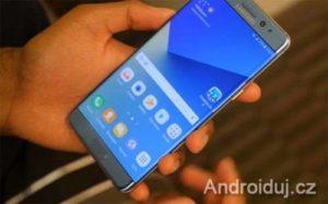 Samsung aktualizuje telefon Note 7 taktéž v Evropě. Limituje nabíjení na 30%.   novinky