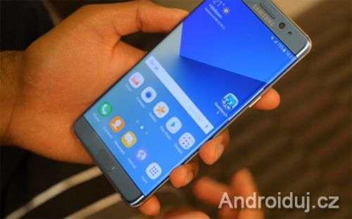 Samsung aktualizuje telefon Note 7 taktéž v Evropě. Limituje nabíjení na 30%.