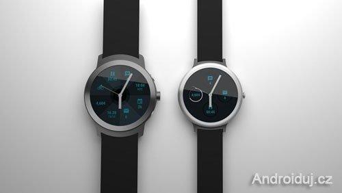 Google - Chytré hodinky na dosah