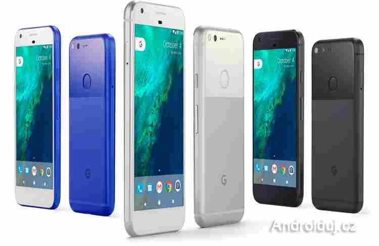 Google Pixel a Google Pixel XL