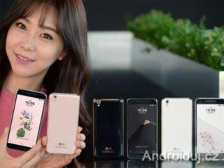 LG U mobilní telefon