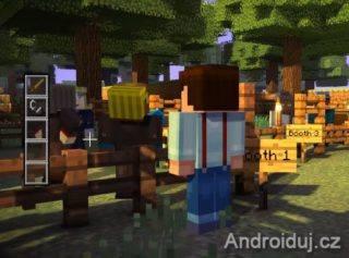 Minecraft Story Mode android hra ke stažení