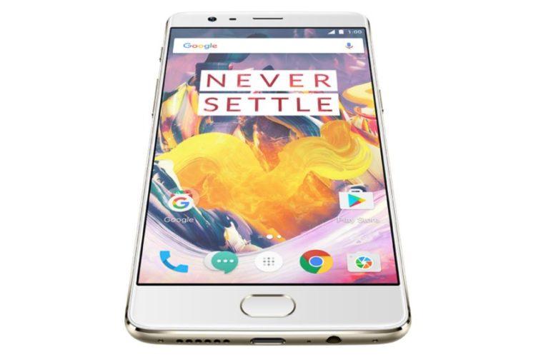One Plus 3T mobilní telefon na trhu