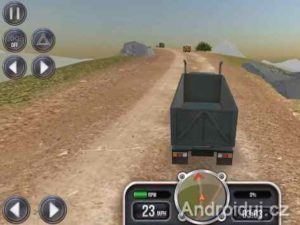 Android hra Extreme Trucks Simulator
