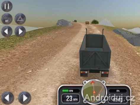 Android hra Extreme Trucks Simulator