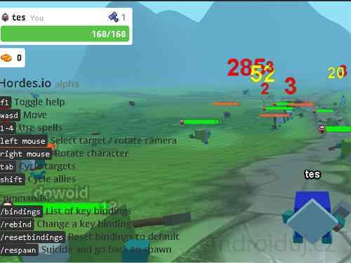 Horde.IO online hra