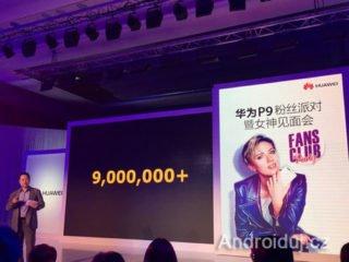 Huawei prodalo 9 miliónů telefonu P9 celosvětově   novinky