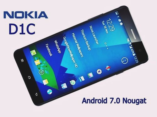 Nokia D1C, Android 7.0