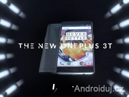 OnePlus 3T mobilní telefon